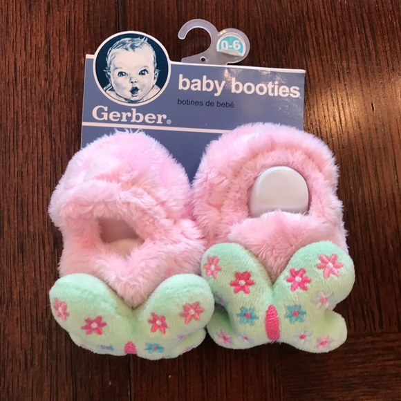 Gerber Shoes | Pink And Green Baby